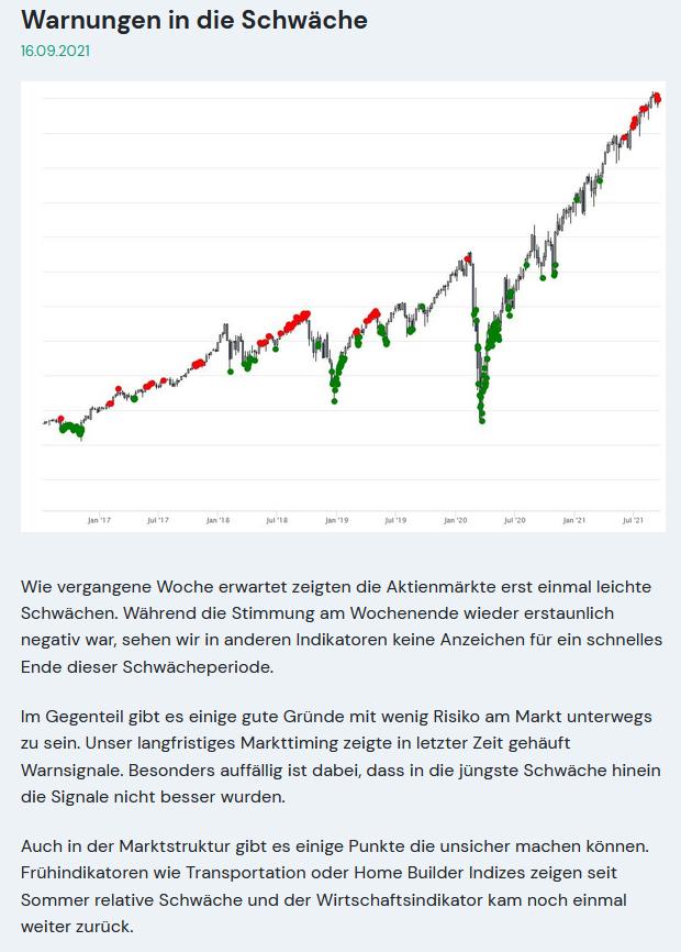 Marktkommentar Warnung Crash
